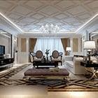 European Classic Living Room Interior