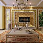 Interior Ruang Tamu Klasik Eropa