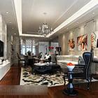 European Living Room Painting Interior