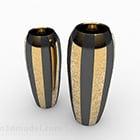 Decorazione vaso di lusso