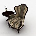 Mobili per divani a strisce retrò europei