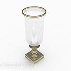 Europejska prosta kryształowa lampa świecznikowa