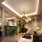 European Small Apartment Living Room Interior