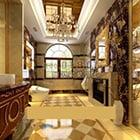 European Style Luxury Home Lobby Interior