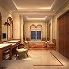 ヨーロッパのバスルームドレッサー家具インテリア