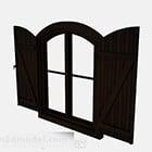 European Wooden 2 Storey Doors Windows