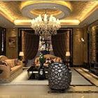 European Style Living Room Decor