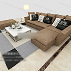 Home Modern Sofa Coffee Table Furniture Interior