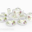 Set da tè da tè pomeridiano francese