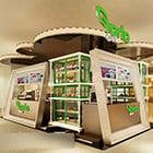 Fruit Liuxian Fruit Shop Interno del piccolo showroom