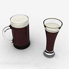 كأس زجاجي V1