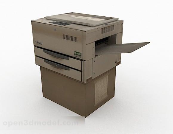 Impresora de oficina vieja