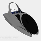 Cat Kelabu Speedboat Laut