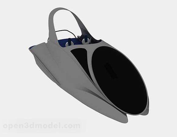 Sea Speedboat Gray Paint