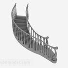 Scale del corridoio dell'hotel