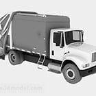 משאית אפורה