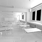 High School Classroom Interior