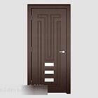 Design dveří z masivního dřeva