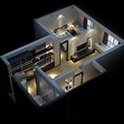Home Plane Apartment Interior