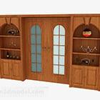 Home Wooden Sliding Door