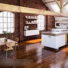 المثالية عرض المطبخ الداخلية