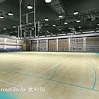 Espace intérieur de salle de basket