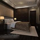 Hotel Style Interior Bedroom Interior