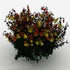 עיצוב פרחים מלאכותיים פנים