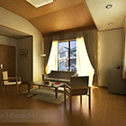 Japanese Living Room Interior