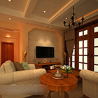 Jianou Warm Living Room Interior