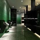 Bar Club Toilet Interior