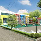 Kindergarten Architecture Exterior Scene
