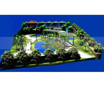 Landscape Design Architecture Free 3d Model Max Open3dmodel 330065