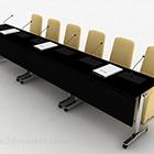 Kombination aus Vortragstisch und Stuhl