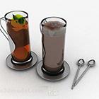 Tea Glass Drink Set