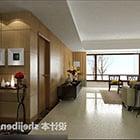 Intérieur du salon Liang Zhitian