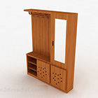 Wood Color Wardrobe Furniture