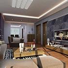 Soggiorno Set completo di mobili interni