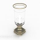 Luksusowa kryształowa lampa świecznikowa