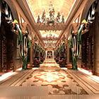 Intérieur du Luxury Bar Club