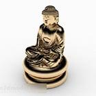 Statua del Buddha d'oro V1