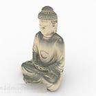 Statue Metall Buddha