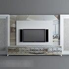 Modern Tv Background Wall Interior