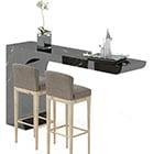 Möbel moderne Bartheke
