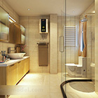 Modern Bathroom Full Set Interior