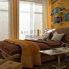 Camera da letto moderna set completo con interno a tenda