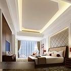 Modern Bedroom Ceiling Interior