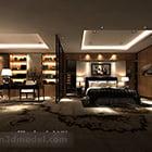 Modern Bedroom Partition Interior