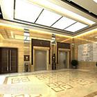 Modern Elevator Corridor Interior V1