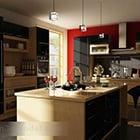Modern huis keuken interieur